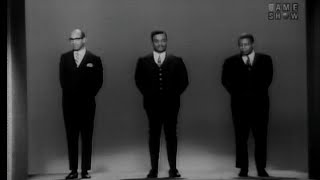 """Clarence Burke Sr., father of the soul group The Five Stairsteps, appears as a contestant on this segment from a 1967 episode of """"To Tell the Truth"""" with host Bud Collyer and panelists Tom Poston, Peggy Cass, Larry Blyden, and Kitty Carlisle.After the game The Five Stairsteps (Clarence Jr., Kenneth, James, Dennis, and Alohe) accompanied by Charles Smith (drums), Greg Fowler (guitar), and Clarence Burke Sr. (guitar), perform """"Danger, She's a Stranger""""."""