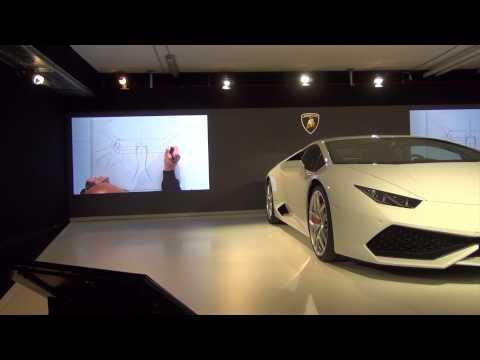 Filippo Perini - 2015 Lamborghini Huracán LP 610-4 Interior Design by Filippo Perini.