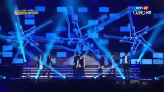 150122 INFINITE 인피니트   Intro & Last Romeo & Back @ 24th Seoul Music Awards
