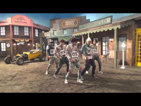 B1A4 - 잘자요 굿나잇 안무 영상 (Baby Good Night Dance Practice Video)  .