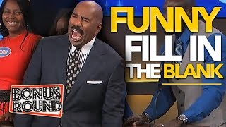 Video 8 FUNNIEST FILL IN THE BLANK ANSWERS On Family Feud | Bonus Round MP3, 3GP, MP4, WEBM, AVI, FLV Maret 2019