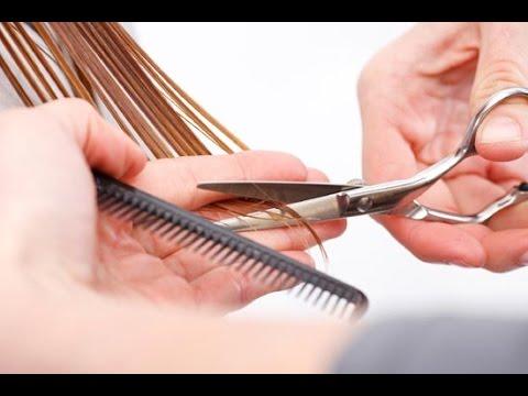 como cortar el cabello en capas con el cabello seco - how to cut hair in layers