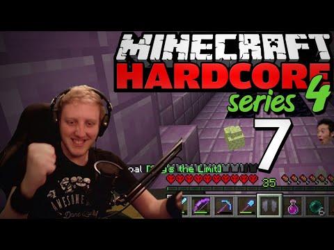 "Minecraft Hardcore - S4E7 - ""ELYTRA QUEST"" • Highlights"