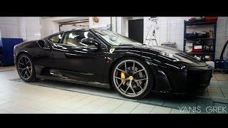 Cход - развал Ferrari F430 в техцентре YANIS GREK