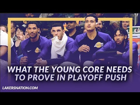 Video: Lakers Podcast: What Does The Young Core Need To Prove In This Playoff Push