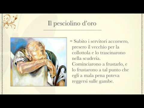 """IL PESCIOLINO D'ORO (fiaba sonora) ★ """"A mille ce n'è…"""""""