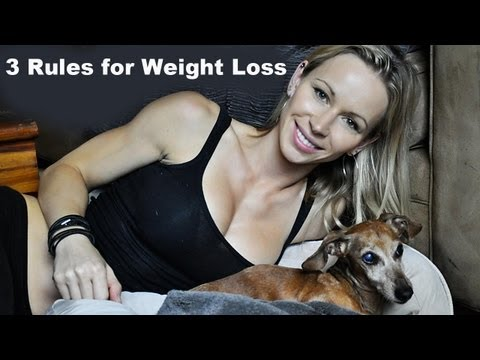 3 Rules for Weight Loss –  Coffee Talk with Zuzka