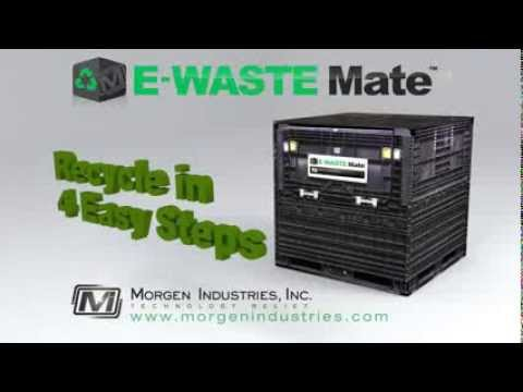 E WASTE Recycling in 4 EASY Steps!