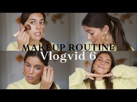 Mi RUTINA DE MAQUILLAJE + productos favoritos #Vlogvid 6