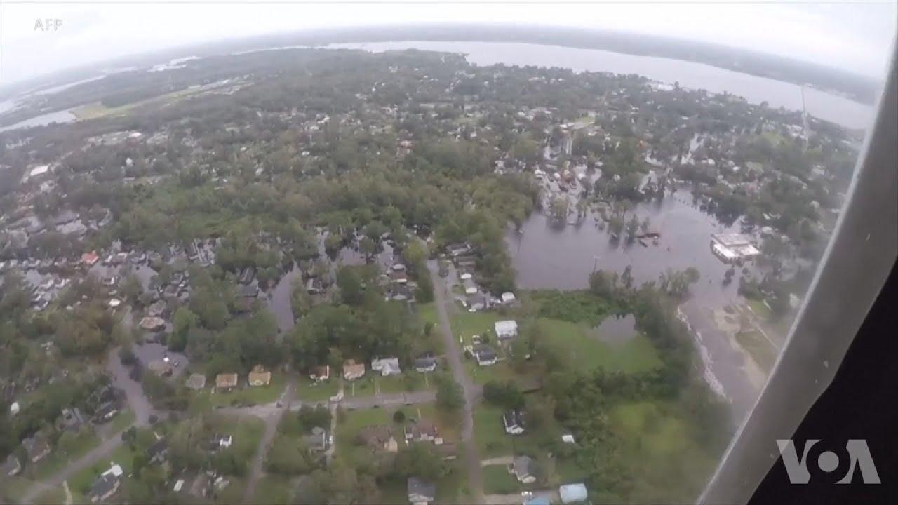 Πλημμύρες-ρεκόρ και ρύπανση εξαιτίας του τυφώνα Φλόρενς