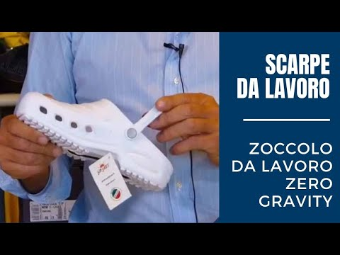 Zoccolo professionale Zero Gravity per settore infermieristico e ospedaliero
