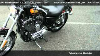5. 2007 Harley Davidson XLS 1200 SPORTSTER 50th Anniversary - for sale in VANCOUVER, WA 98665