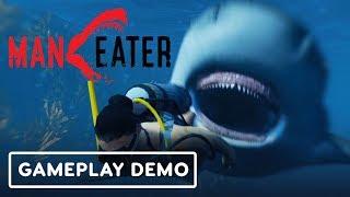 Maneater: The Shark Souls of Open World Shark Games  - Gamescom 2019 by IGN