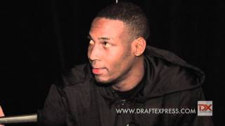 JaJuan Johnson Draft Combine Interview