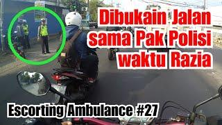 Video ESCORTING AMBULANCE #27 | MAKASIH PAK POLISI *Pasien A1+ MP3, 3GP, MP4, WEBM, AVI, FLV Maret 2019