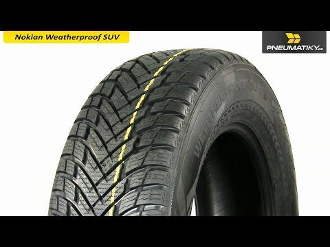 Youtube Nokian Weatherproof SUV 255/55 R18 109 V XL Univerzální