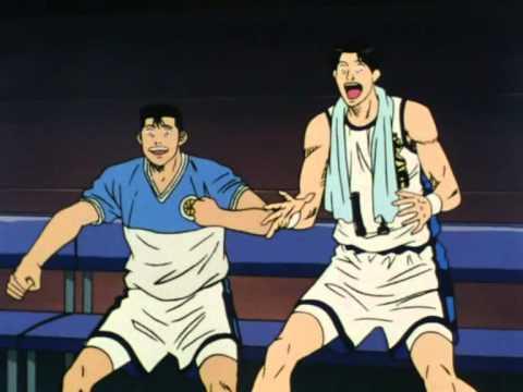 la più bella schiacciata di hanamichi sakuragi - slam dunk