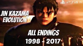 Video TEKKEN SERIES - All Jin Kazama & Devil Jin Endings 1998 - 2017 [1080P 60FPS] PS4 Pro MP3, 3GP, MP4, WEBM, AVI, FLV Januari 2019