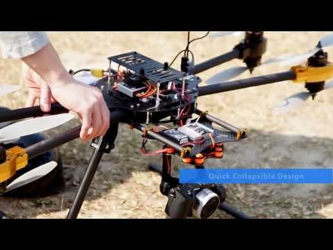 Cyclone X8 Octocopter Super Combo