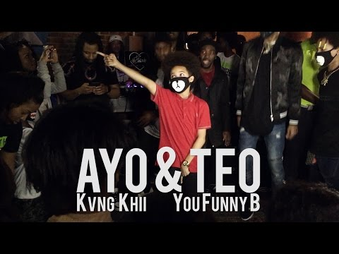 EPIC Ayo & Teo X Kvng Khii Performance | AY3 Dance Music Video OUT NOW!