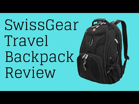 SwissGear Travel Gear ScanSmart Backpack 1900 Review Full of Stuff