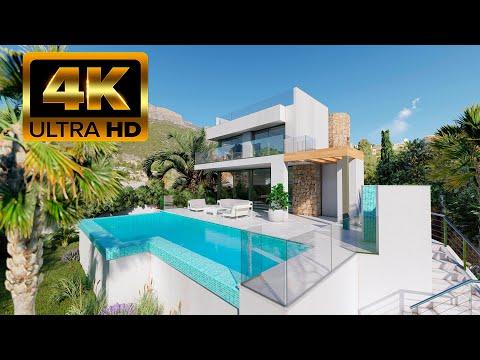 2200000€/300м до моря/Вилла в Кальпе/Новые дома в Испании на Коста Бланка Премиум класса/Хай-Тек