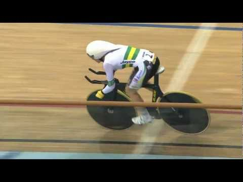 Laura BROWN v Annette EDMONDSON – Bronze Final, Women's Individual Pursuit