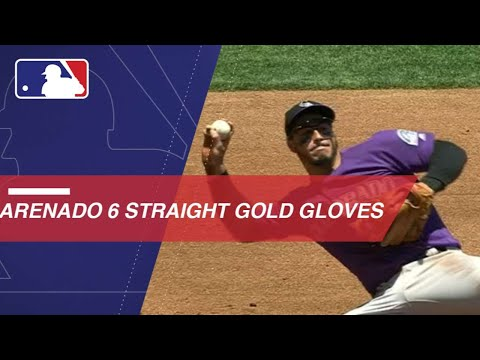 Video: Arenado collects his sixth straight Gold Glove Award