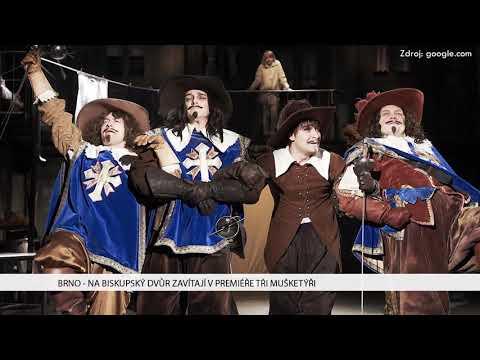 TV Brno 1: 7.2.2018 Na Biskupský dvůr zavítají v premiéře Tři mušketýři