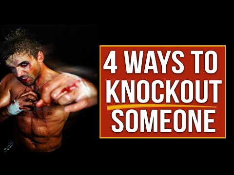 4 Ways to Knock Out someone – Street Tested and Proven Self Defense
