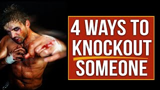 Video 4 Ways to Knock Out someone - Street Tested and Proven Self Defense MP3, 3GP, MP4, WEBM, AVI, FLV Desember 2018