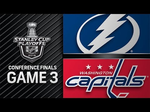 Lightning trim Capitals' series lead with Game 3 win