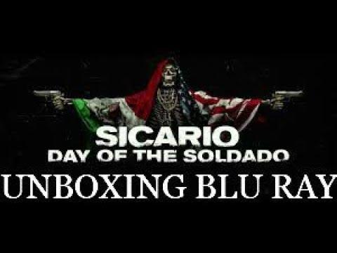 SICARIO  Day of the soldado  Unboxing Blu ray