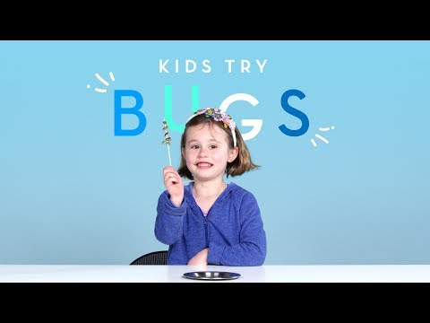 Kids React to Tasting Bugs for the First Time