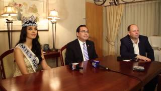 Raw Footage: Miss World Megan Young, Philippine Independence Day Council Inc. Press Conference
