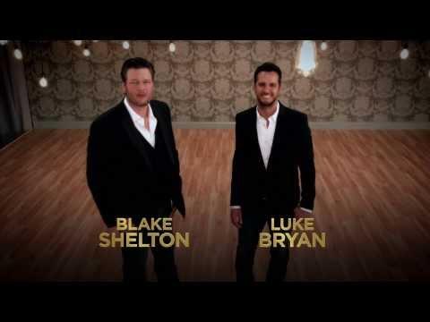 FUNNY! Blake Shelton and Luke Bryan in Hilarious ACM Awards Promos!