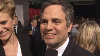 Mark Ruffalo Avengers Age of Ultron Premiere Interview