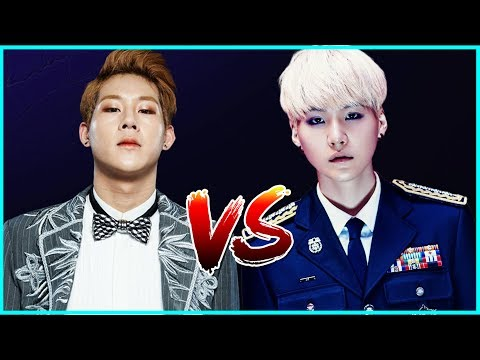 JOOHEON [MONSTA X] Vs SUGA [BTS] - RAP BATTLE