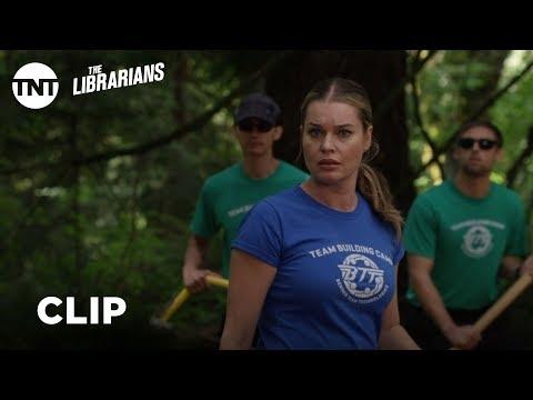 The Librarians: It's Not Your Fault - Season 4, Ep. 7 [CLIP] | TNT