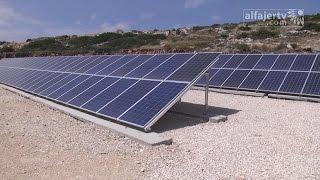 مشروع الطاقة الشمسية في يعبد الاضخم فلسطينيا ونموذجا للقرى المجاورة