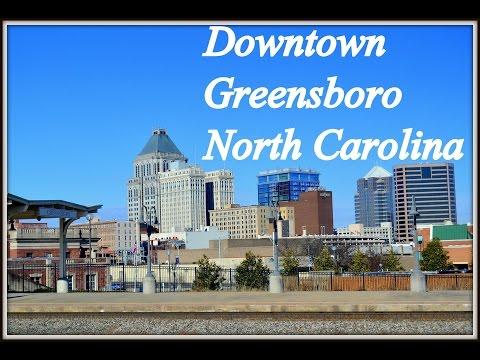 Downtown Greensboro North Carolina