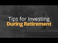 Tips for When You Start Investing After Retirement | Phil Town