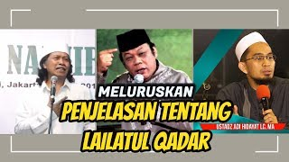 Video Cak NUN, Ustadz Adi Hidayat, Lc.MA, KH. Zainuddin. MZ || LAILATUL QADAR MP3, 3GP, MP4, WEBM, AVI, FLV Juni 2018