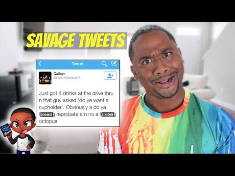 Reading WEIRD Scottish Tweets | SAVAGE LEVEL 9000