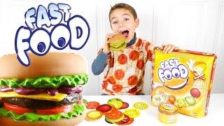 Video JEU - FAST FOOD - Le Plus GROS HAMBURGER ! - Jeu de société MP3, 3GP, MP4, WEBM, AVI, FLV Oktober 2017