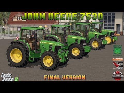 John Deere 7530/7430 v3.0