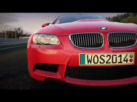 World of Speed : vidéo de la BMW M3 E92