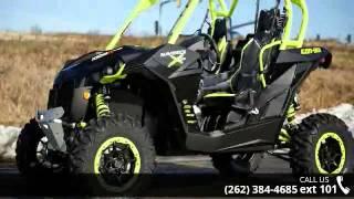 7. 2015 Can-Am Maverick X ds 1000R Turbo Carbon Black & Mant...