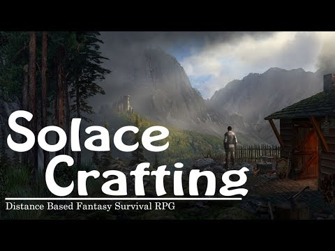 CRAFTING SURVIVAL FANTASY RPG | Solace Crafting | Let's Play Multiplayer Gameplay | S01E01