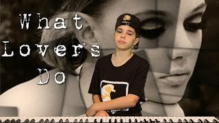 Maroon 5 - What Lovers Do ft. SZA - (Christian Lalama Cover)